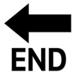End Arrow Emoji U 1f51a
