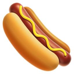 Hot Dog Emoji U 1f32d
