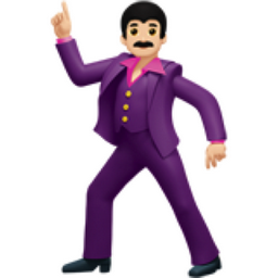 Man Dancing Light Skin Tone Emoji U 1f57a U 1f3fb