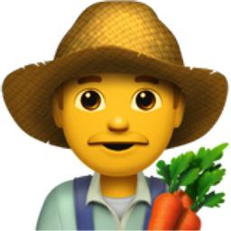Man Farmer Emoji U 1f468 U 200d U 1f33e