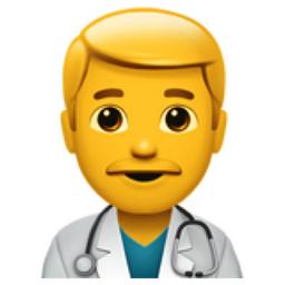 Man Health Worker Emoji U 1f468 U 200d U 2695 U Fe0f