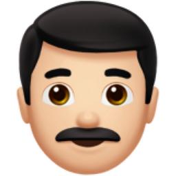 Man Light Skin Tone Emoji U 1f468 U 1f3fb