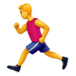 Man Running Emoji U 1f3c3