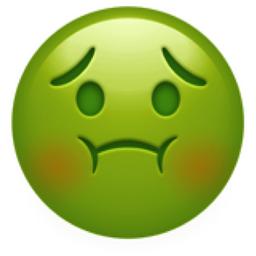 Nauseated Face Emoji U 1f922