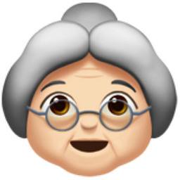 Old Woman Light Skin Tone Emoji U 1f475 U 1f3fb