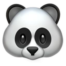 Panda Face Emoji U 1F43C