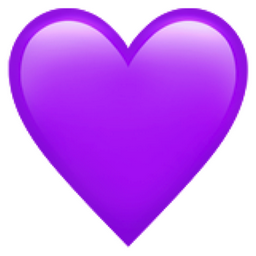 iphone emojis copy and paste purple emoji u 1f49c 17645