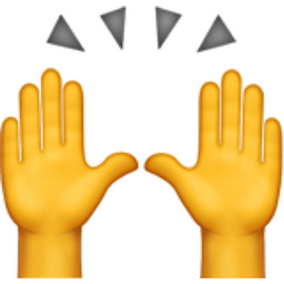 Raising Hands Emoji U 1f64c