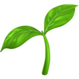Seedling Emoji U 1F331
