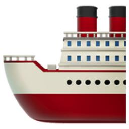 Ship Emoji U 1f6a2
