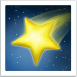 Shooting Star Emoji U 1f320
