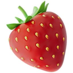 Strawberry Emoji U 1f353
