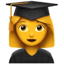 Woman Student Emoji U 1f469 U 200d U 1f393