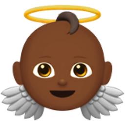 Baby Angel Medium Dark Skin Tone Emoji U 1f47c U 1f3fe