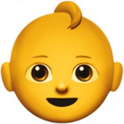 Baby Emoji U 1f476