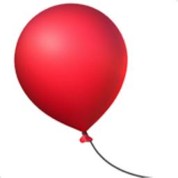 Balloon Emoji U 1F388