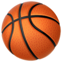Basketball Emoji (U+1F3C0)