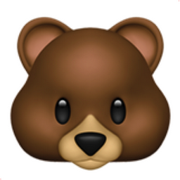 bear face emoji u 1f43b