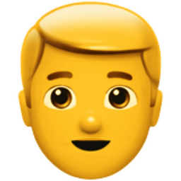 Blond Haired Man Emoji U 1f471 U 200d U 2642 U Fe0f