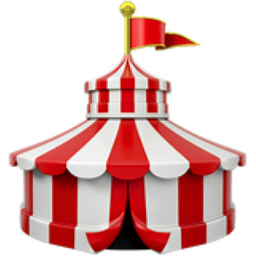 Circus Tent Emoji U 1f3aa