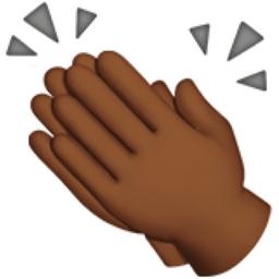 clapping hands medium dark skin tone emoji u 1f44f u 1f3fe