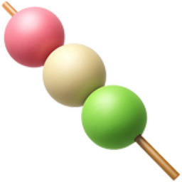 Dango Emoji U 1f361