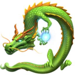 Drachen Emoji