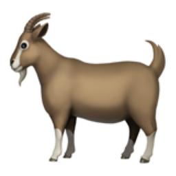Image result for Goat emoji