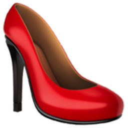 Image Of Red High Heel Shoes
