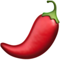 Hot Pepper Emoji U 1f336