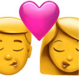 kiss emoji u 1f48f