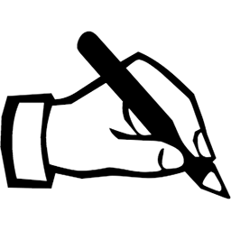 Image result for writing hand