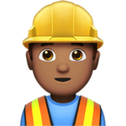 man construction worker medium skin tone emoji u 1f477 u 1f3fd u