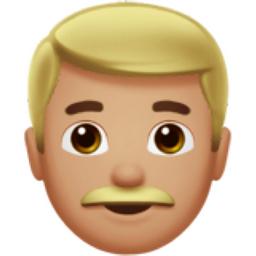 man medium light skin tone emoji u 1f468 u 1f3fc