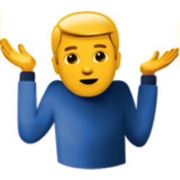 man shrugging emoji u 1f937 u 200d u 2642 u fe0f