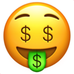 Emoji Information Money Mouth Face