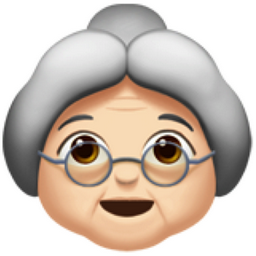 Image result for old woman emoji