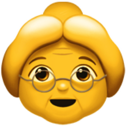 Old people emoji