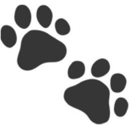 Bear Paw Emoji Paw Prints Emoji (U+1F...