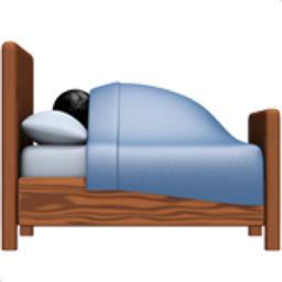 Person In Bed Emoji U 1f6cc