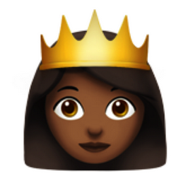 Princess Medium Dark Skin Tone Emoji U 1f478 U 1f3fe