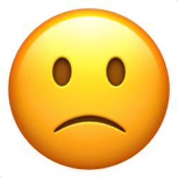 Slightly Frowning Face Emoji U 1f641