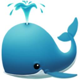 Spouting Whale Emoji U 1f433