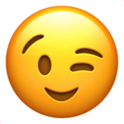 Image result for wink face emoji