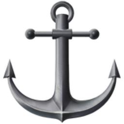 Anchor Emoji (U+2693, U+FE0F)