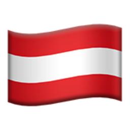 Austria Emoji (U+1F1E6, U+1F1F9)
