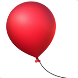 Balloon Emoji (U+1F388)