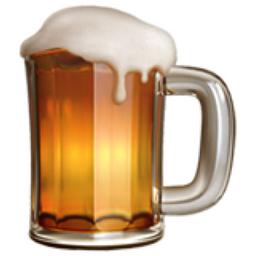 Emoticons Beer Drinking