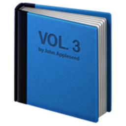 Blue Book Emoji U 1f4d8