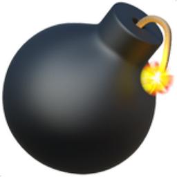 Bomb Emoji (U+1F4A3)